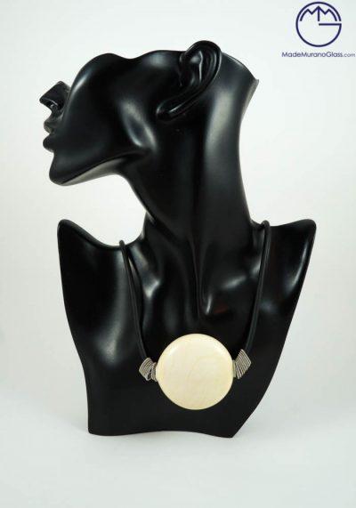 Marilyn – White Murano Jewelry