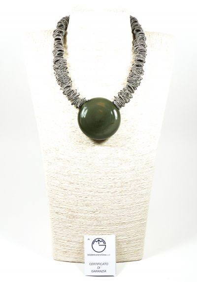 Lux – Made Murano Glass Jewelry – Necklace In Venetian Blown Glass