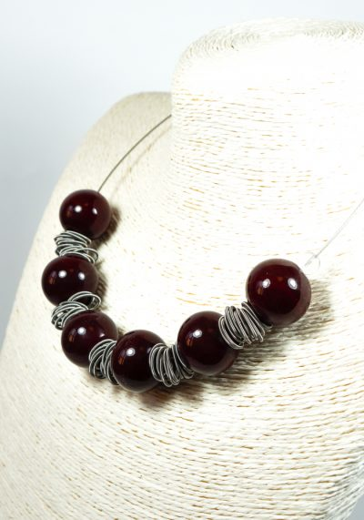 Incanto – Made Murano Glass Jewelry – Necklace In Venetian Blown Glass