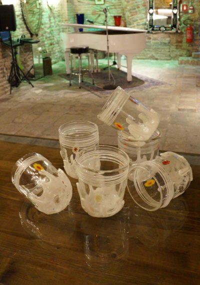 Ice – Set Of 6 Murano Drinking Glasses – Goto De Fornasa