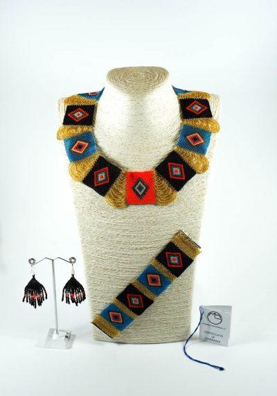 Maia – Murano Jewelry – Necklace Bracelet Earrings
