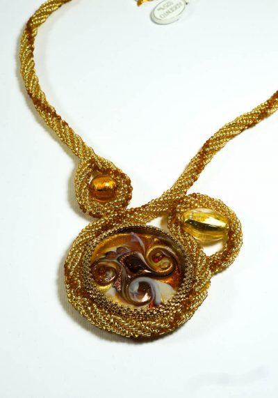 Galassia – Necklace In Murano Glass