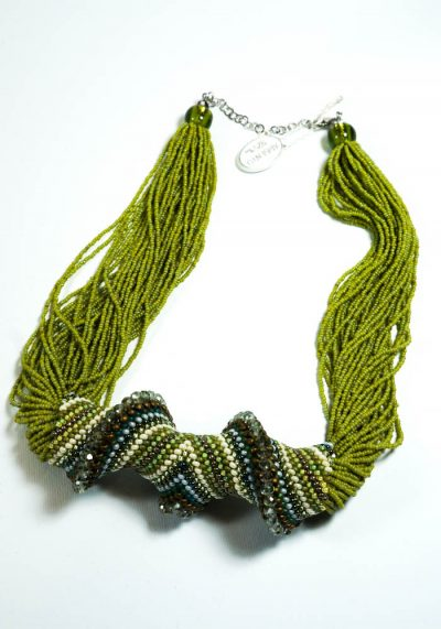 Torcion – Necklace In Murano Glass – Murano Jewelry