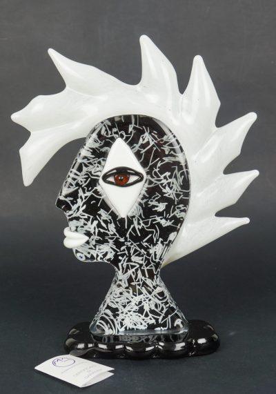 Sculpture Tribute Punk – Made Murano Glass