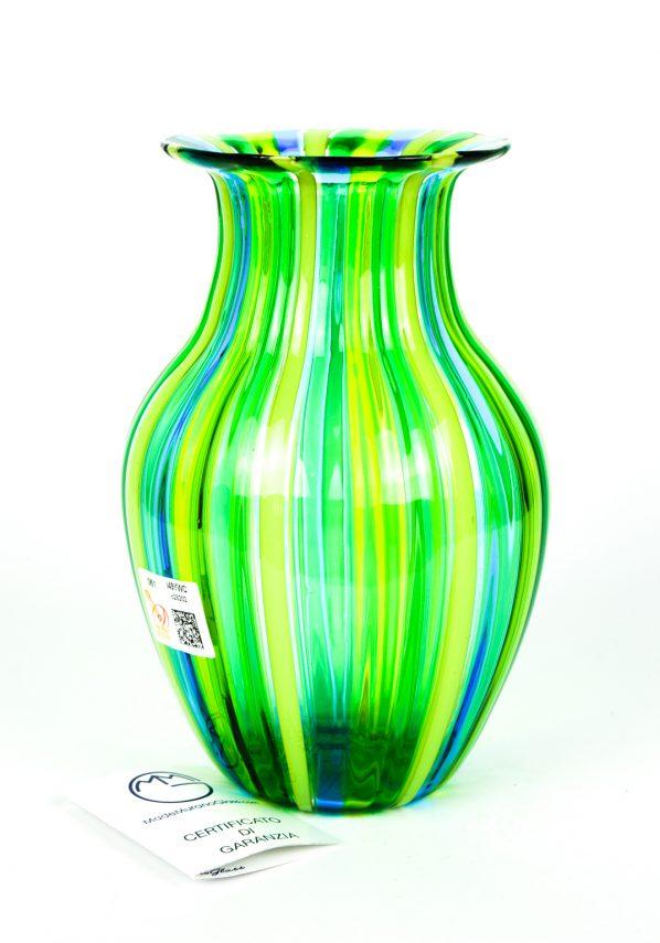 Natures - Vaso Vetro Soffiato In Canna Verde