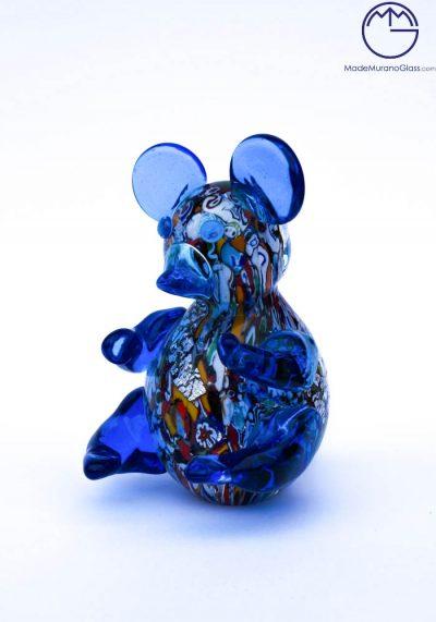 Collection Aida Sommerso – Murano Glass Animal Panda In Murano Glass