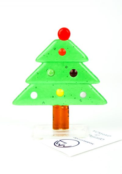 Green Christmas Tree – Murano Glass Ornaments