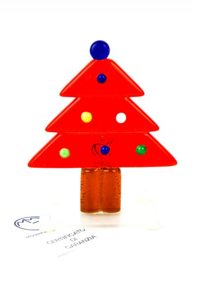 Red Christmas Tree – Murano Glass Ornaments