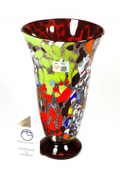 Nobel – Vase Fantasy Red