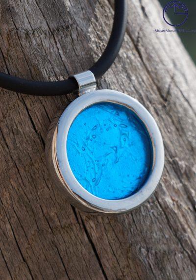 Giada – Murano Glass Jewelry Silver Sea Water