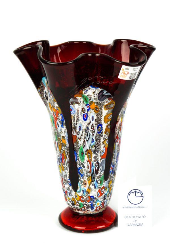 Moriseta - Vaso Fazzoletto Colature Rosso