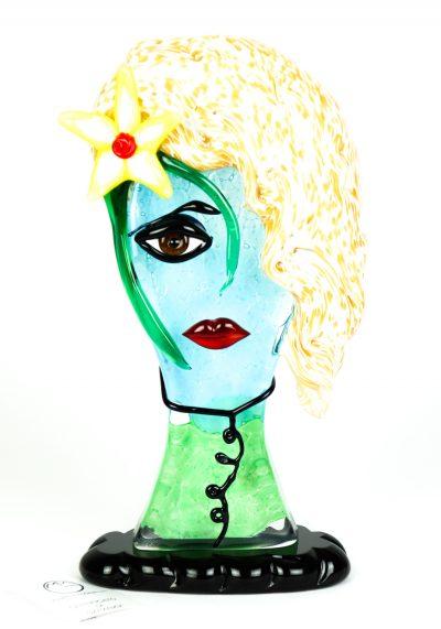 Sahara – Tribute To Pablo Picasso – Pop Art Glass Sculpture