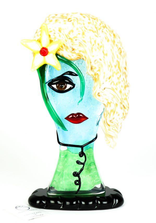 Sahara - Testa Di Donna Tributo A Pablo Picasso - Pop Art