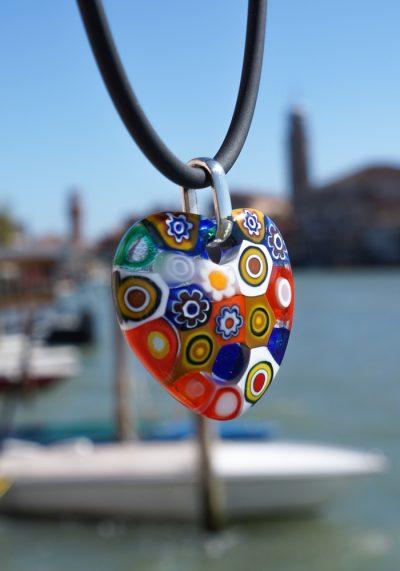 Cuore – Murano Jewelry With Murrina Millefiori – Murano Glass