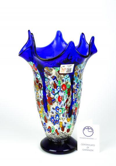 Fatima – Blown Vase Blue