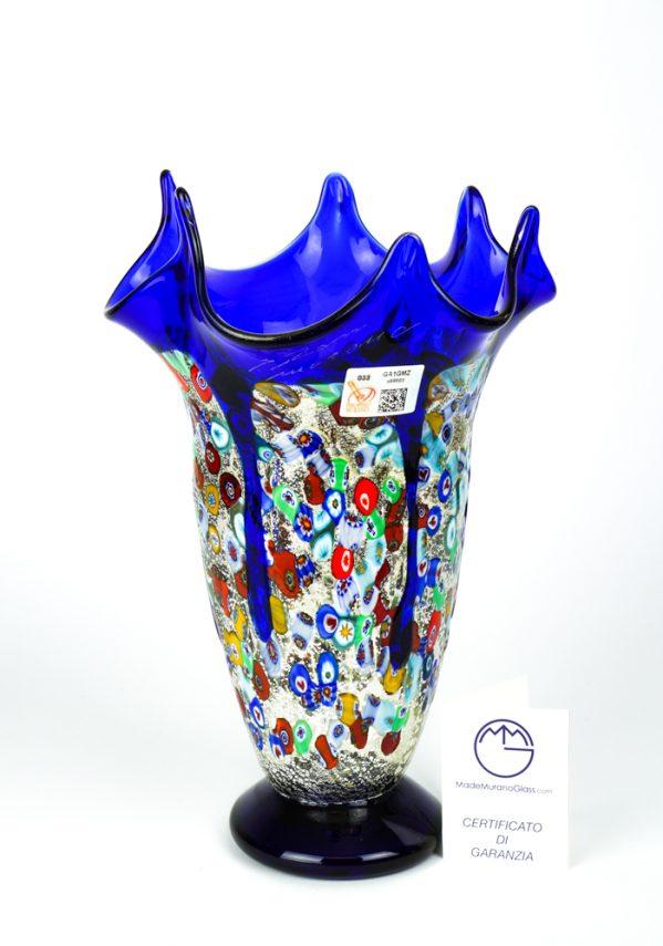 Fatima - Vaso Fazzoletto Colature Blu
