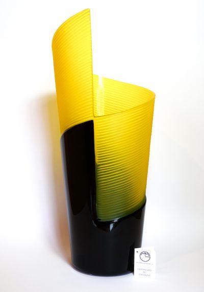 Twirl – Exclusive Murano Glass Vase Engraved
