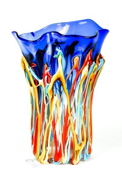 Orisio – Exclusive Blue Glass Vase