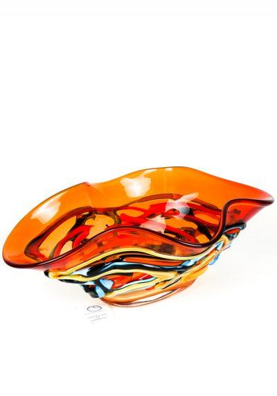Sunset – Red Bowl – Made Murano Glass