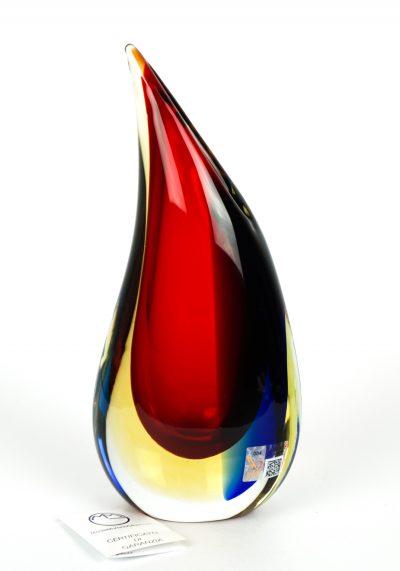 Diamond – Sommerso Vase – Made Murano Glass