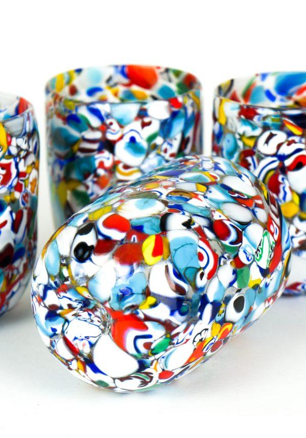 Reys - Set Of 6 Murano Drinking Glasses