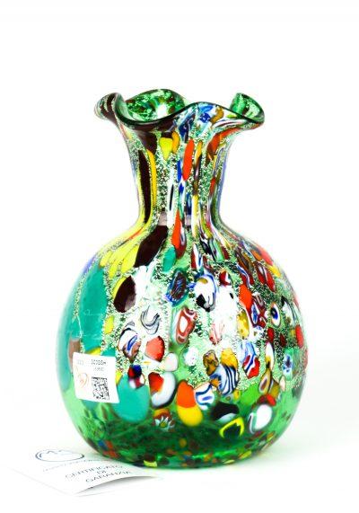 Fiorito – Murano Vase Fantasy Green