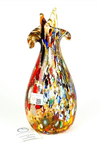 Dea – Murano Vase Fantasy Amber