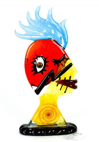 Insomnia – Tribute To Pablo Picasso – Pop Art Glass Sculpture