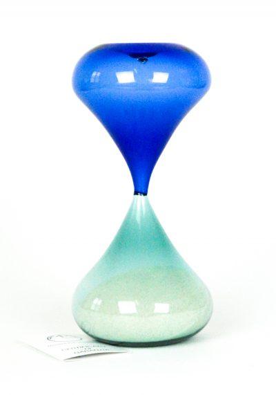 Murano Hourglass – Blue Emerald