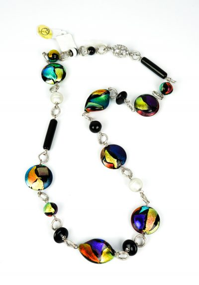 Dicroik – Necklace Made Of Murano Glass