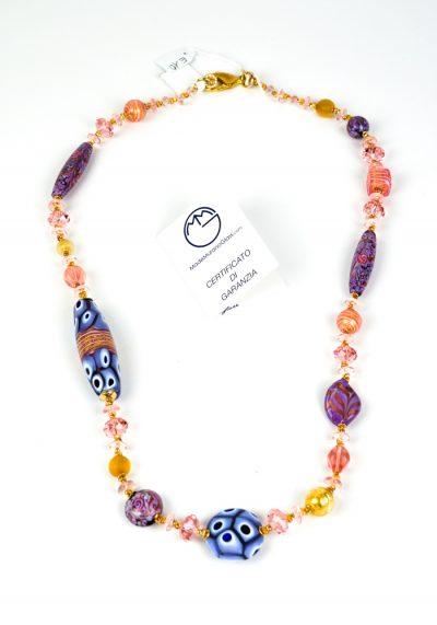 Pesco – Necklace Made Of Murano Glass