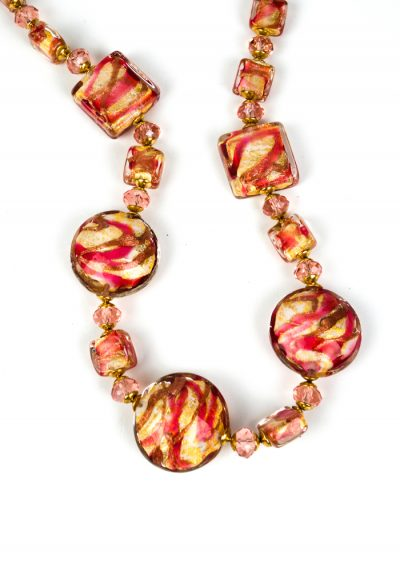 Happy – Necklace Made Of Murano Glass