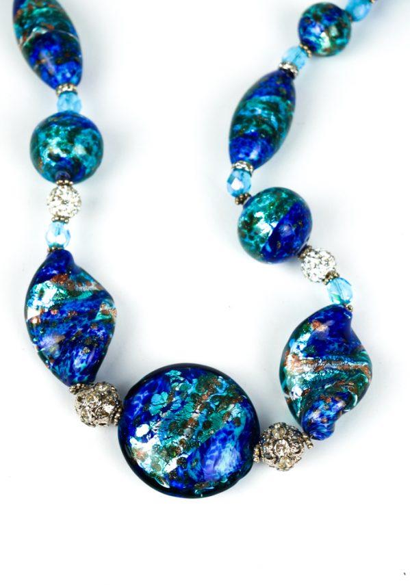 Lumina - Collana Perle In Vetro Soffiato