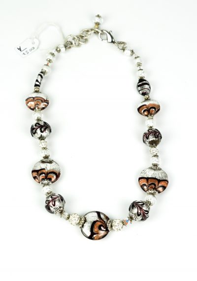 Villa – Necklace Made Of Murano Glass