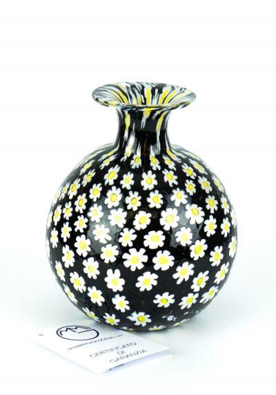 Round Margherita – Vase With Murrina Millefiori