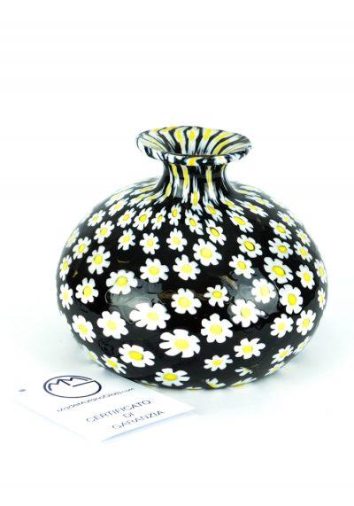 Margherita – Murano Glass Vase With Murrina Millefiori