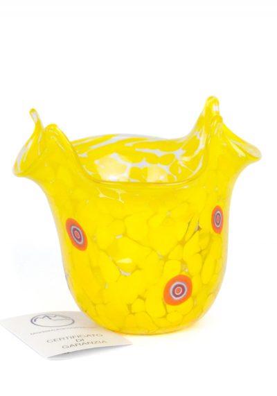 Dlo – Murano Handkerchief Vase Yellow