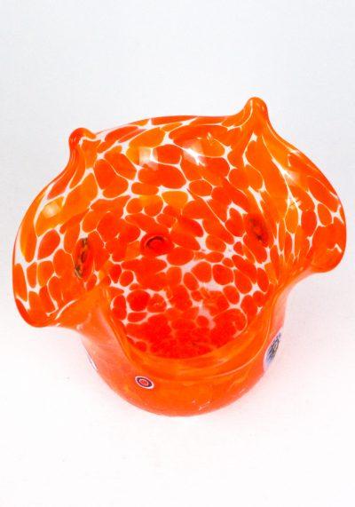 Rik - Vaso Murano Fazzoletto Arancio murano glass paperweight