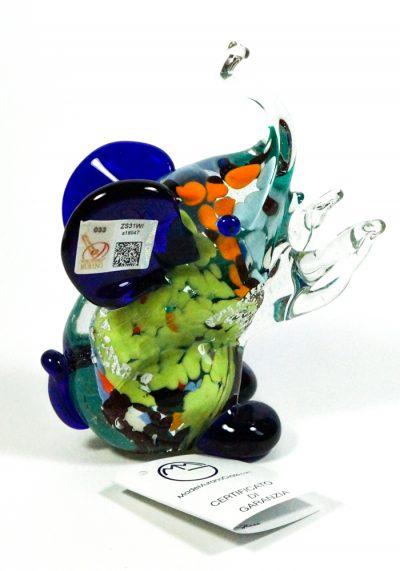 Collection Aida Sommerso – Murano Glass Animal Elephant – Made Murano Glass