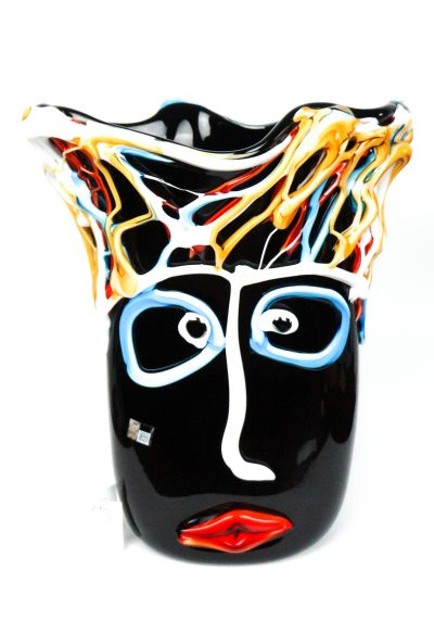 Vase Tribute To Pablo Picasso Black