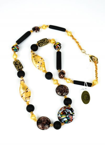 California – Necklace Made Murano Glass