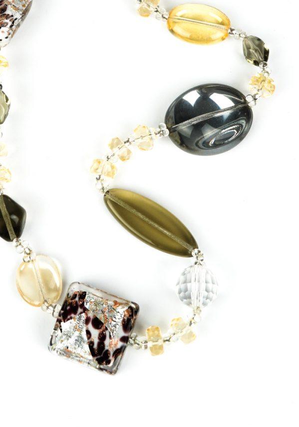 Loa - Collana Perle In Vetro Soffiato Murano