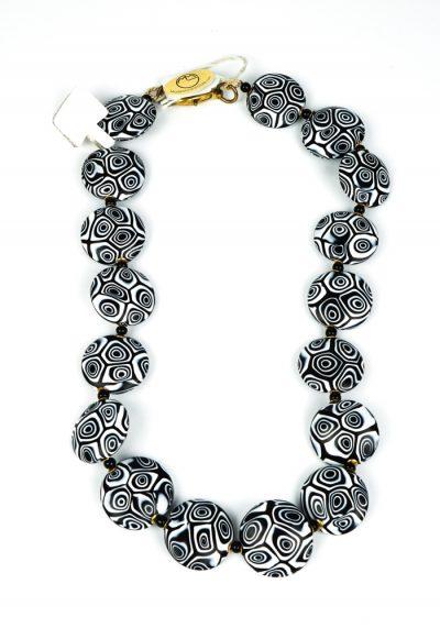Fiona – Murano Glass Necklace With Murrina Millefiori