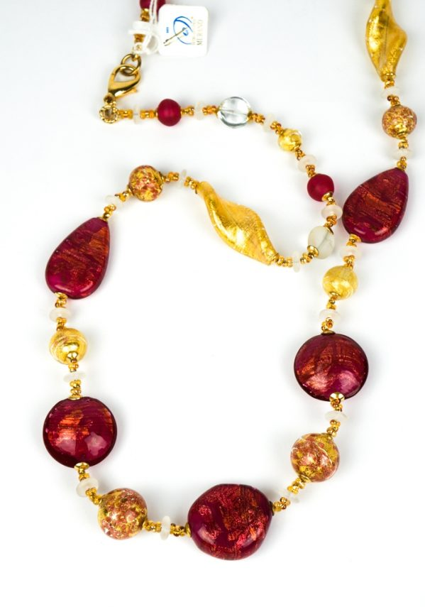Rubino - Gioiello Perle Vetro Veneziano