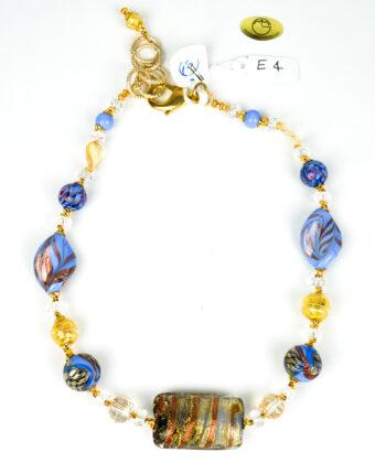 Tenesa - Gioiello Collana Perle Vetro Murano