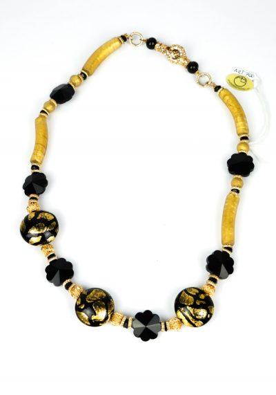Obari – Venetian Glass Jewelry – Necklace Made Murano Glass