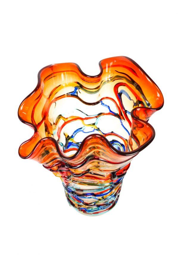 Rosalbo - Exclusive Red Murano Glass Vase