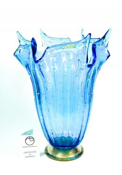 Marine – Murano Glass Vase Balloton Sea Water – Made Murano Glass