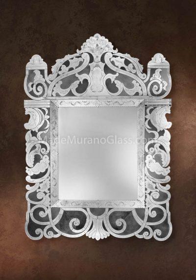 Exclusive Murano Glass Mirror – Genesi – Art Glass