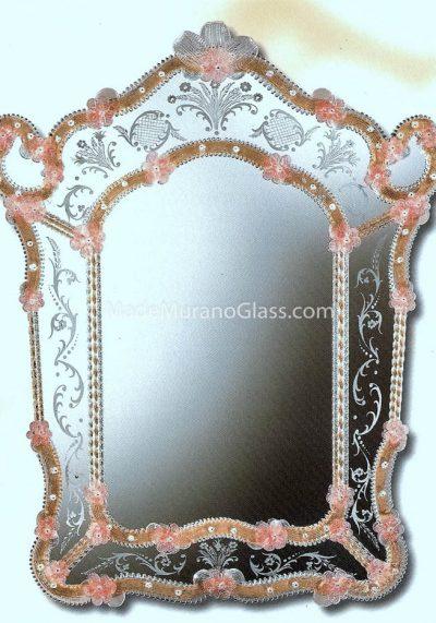 Venetian Glass Mirror – Tre Archi – Murano Glass